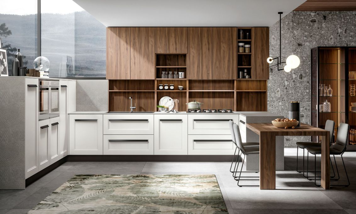 Cucina GREEN contemporanea